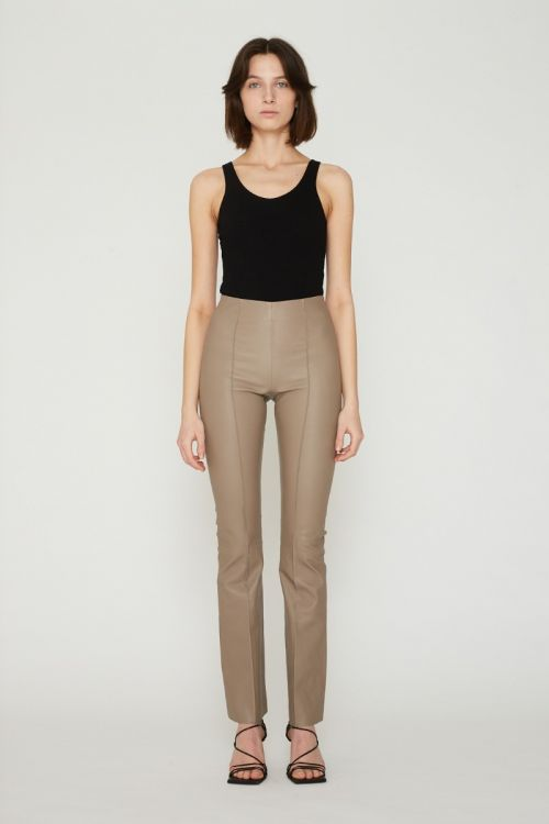 Floral Pant Taupe
